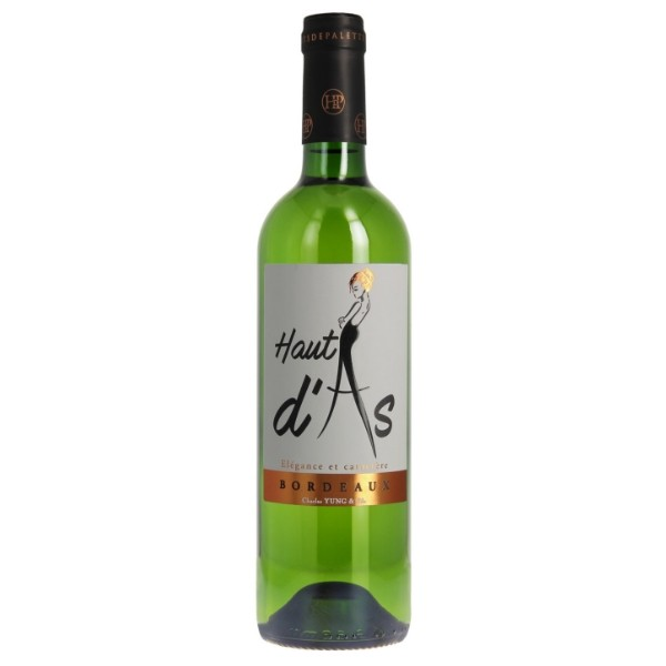 Haut d'As vin AOC Bordeaux Blanc