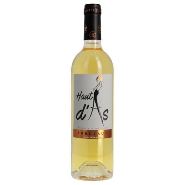 Haut d'As vin AOC Bordeaux Blanc Moelleux